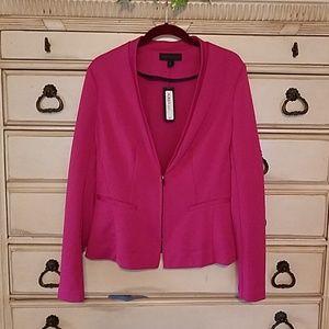 Worthington hot pink dress jacket